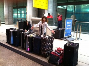 Carmen leaving FLL for NYC