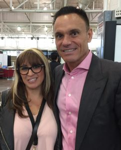 Kevin Harrington and Carmen Ballering at the Young Entrepreneur Convention